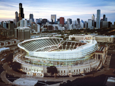 Soldier Field - Attractions/Entertainment, Shopping - 425 E Mcfetridge Dr, Chicago, IL, United States