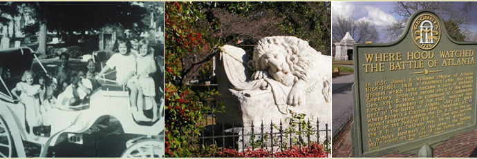 Oakland Cemetery - Attractions/Entertainment, Parks/Recreation - Oakland Cemetery, 248 Oakland Ave SE, Atlanta, GA