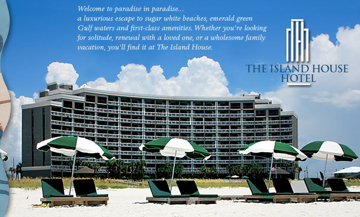 Island House Hotel On The Beach - Hotels/Accommodations - 26650 Perdido Beach Boulevard, Orange Beach, AL, 36561