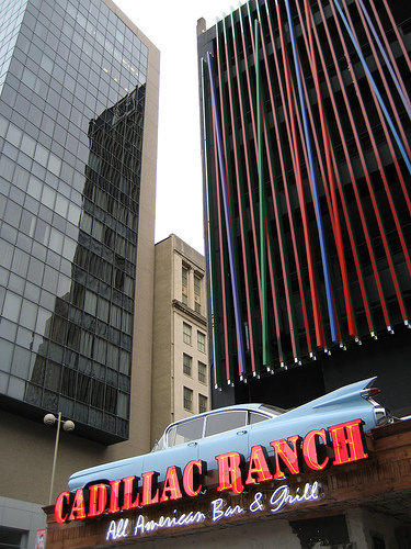 Cadillac Ranch - Attractions/Entertainment, Restaurants, Bars/Nightife - 38 Fountain Square Plz, Cincinnati, OH, United States