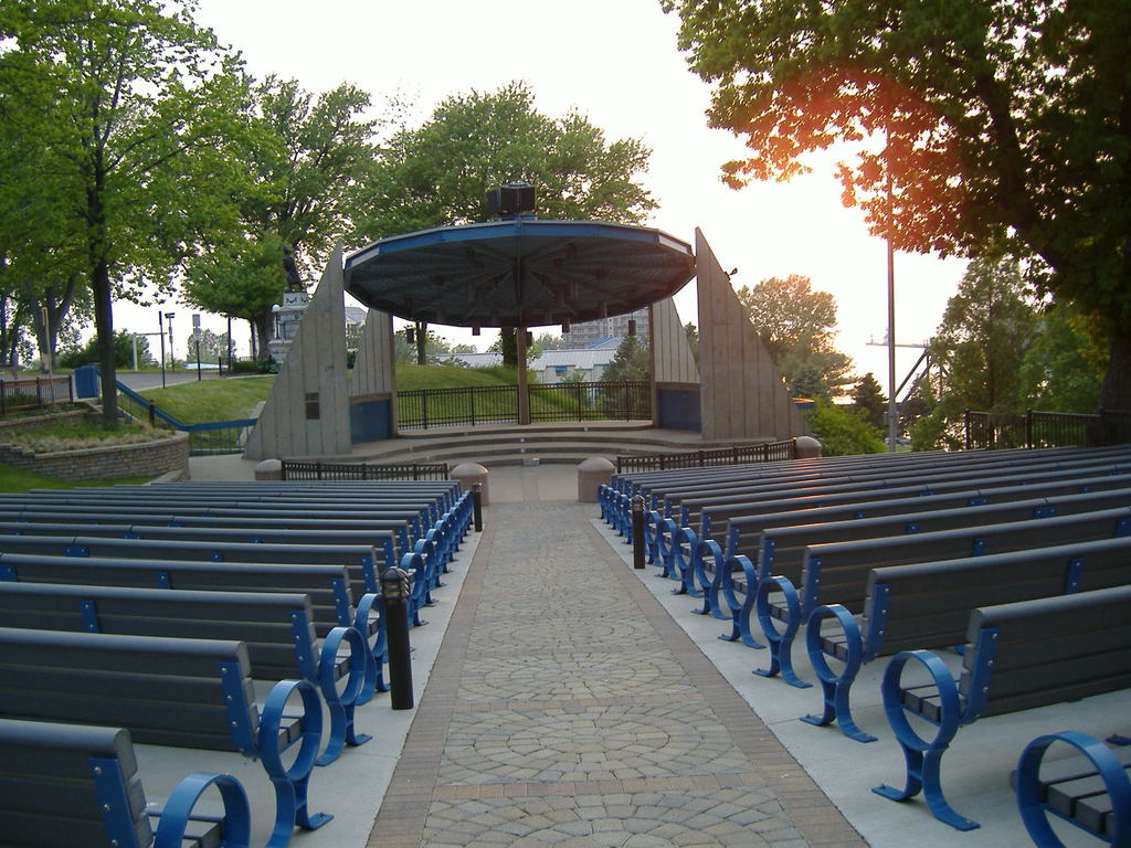 The Howard Bandshell - Ceremony Sites - Lake Blvd & Port St, St Joseph, MI, 49085