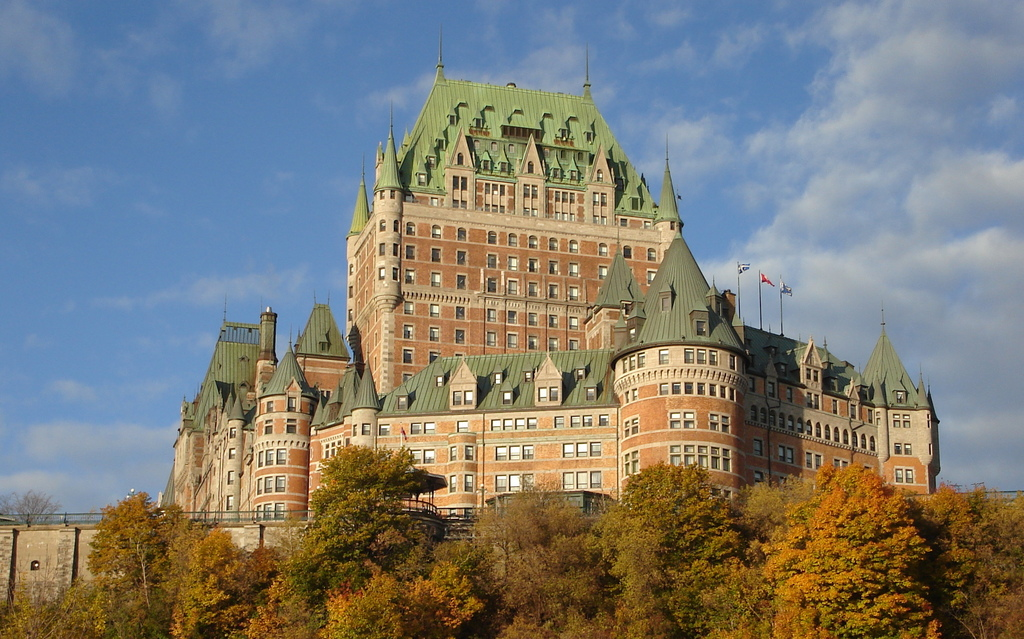 Image result for quebec city chateau frontenac