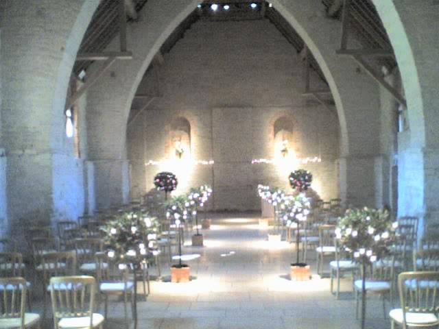 The Tithe Barn - Ceremony Sites - The Tithe Barn, Old Ditcham Farm, Near Petersfield, Hampshire, GU31 5RQ