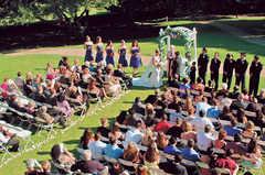 Carmel Wedding In July