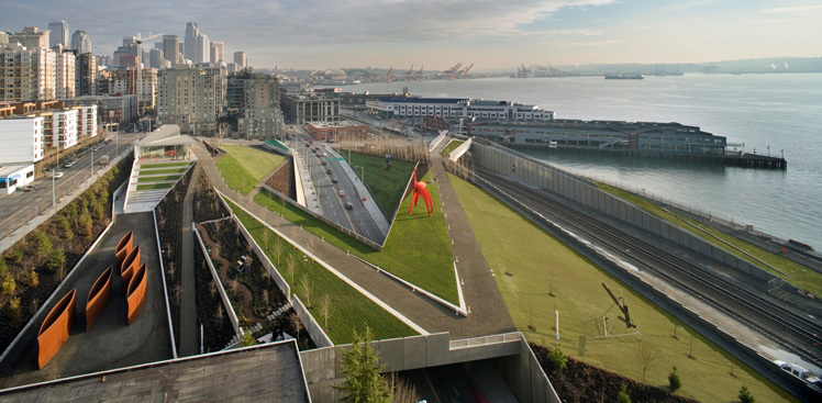 Olympic Sculpture Park - Attractions/Entertainment, Parks/Recreation, Ceremony Sites - 2901 Western Avenue, Seattle, WA, United States