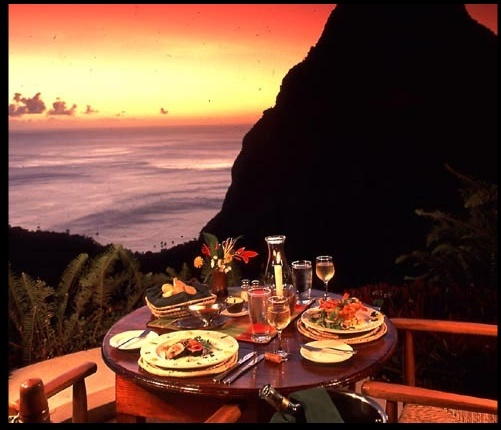 Dasheene at Ladera Resort - Honeymoon Vendor - PO. Box 225, Soufriere, St. Lucia, West Indies