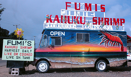 Giovanni's Shrimp Truck - Restaurants, Attractions/Entertainment - 56-505 Kamehameha Hwy, Kahuku, HI, United States
