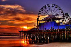 Santa Monica Pier - Attractions - Santa Monica Pier, Santa Monica, CA
