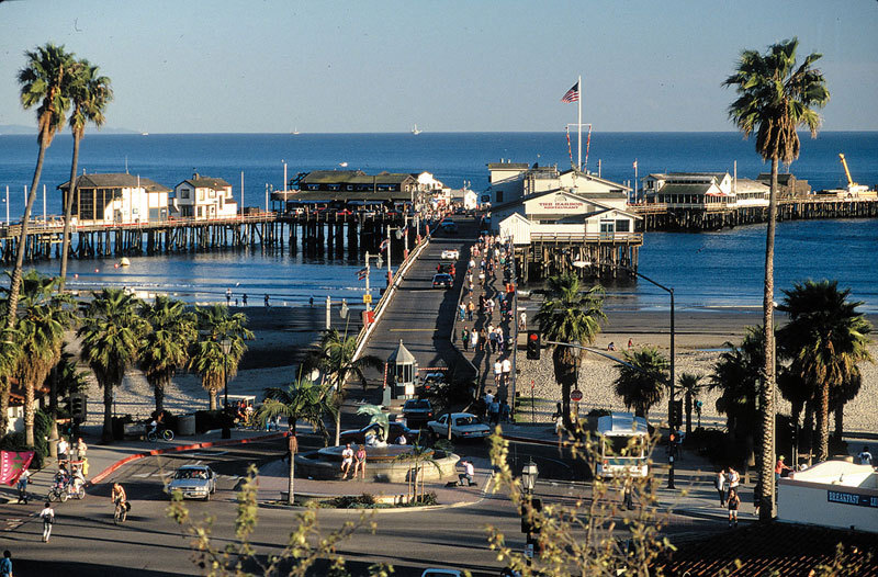 Stearns Wharf - Attractions/Entertainment, Cruises/On The Water - Stearns Wharf, Santa Barbara, CA, United States