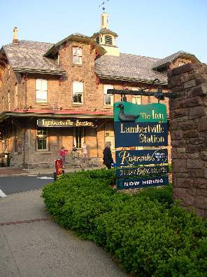 The Lambertville Station - Reception Sites, Hotels/Accommodations, Ceremony &amp; Reception, Restaurants - 11 Bridge St, Lambertville, NJ, 08530, US