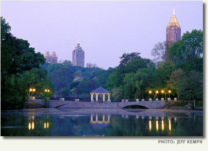 Piedmont Park - Attractions/Entertainment, Parks/Recreation - 400 10th St NE, Atlanta, GA, United States