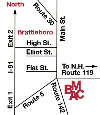 Brattleboro Museum &amp; Art Center - Welcome Sites - 10 Vernon St, Brattleboro, VT, 05301, US