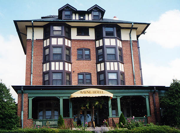 Wayne Hotel - Hotels/Accommodations - 139 East Lancaster Ave, Wayne, PA, US
