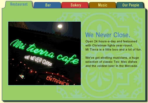 Mi Tierra Cafe & Bakery - Restaurants - 218 Produce Row, San Antonio, TX, United States