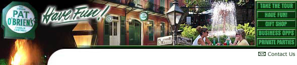Pat O'briens - Bars/Nightife, Attractions/Entertainment, Reception Sites - 121 Alamo Plaza, San Antonio, TX, United States