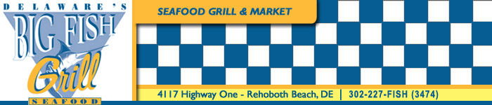 Big Fish Grill - Restaurants - 4117 Highway One, Rehoboth Beach, De, 19971-501, United States