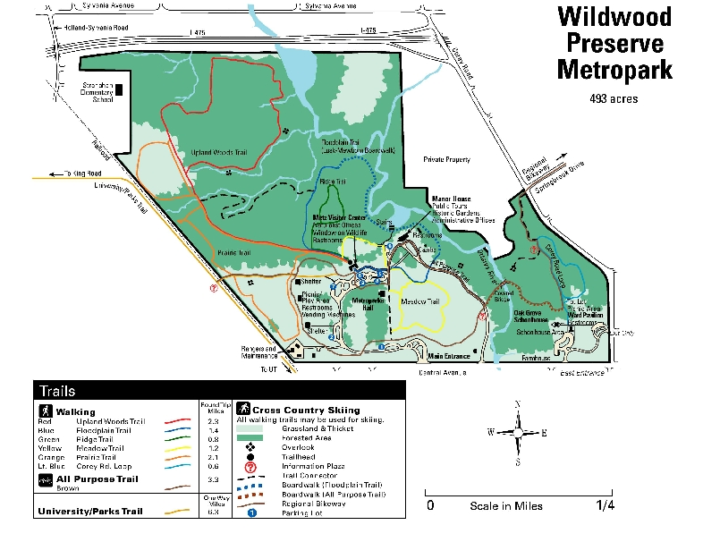 Wildwood Preserve Metropark - Attractions/Entertainment, Ceremony Sites - 5100 W Central Ave, Toledo, OH, 43615, US