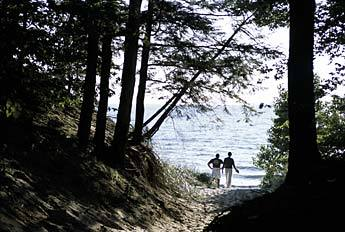 Saugatuck Dunes State Park - Parks/Recreation, Attractions/Entertainment - Saugatuck Dunes State Park, Holland, Michigan 49423, United States