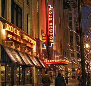 Rock Bottom Restaurant & Brewery - Restaurants, Shopping - 10 W Washington St, Indianapolis, IN, United States