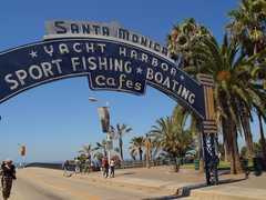 Santa Monica Pier - Attraction - Santa Monica Pier, Santa Monica, CA