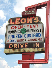 Leon's Frozen Custard Drive-in - Attractions/Entertainment, Restaurants - 3131 S 27th St, Milwaukee, WI, United States
