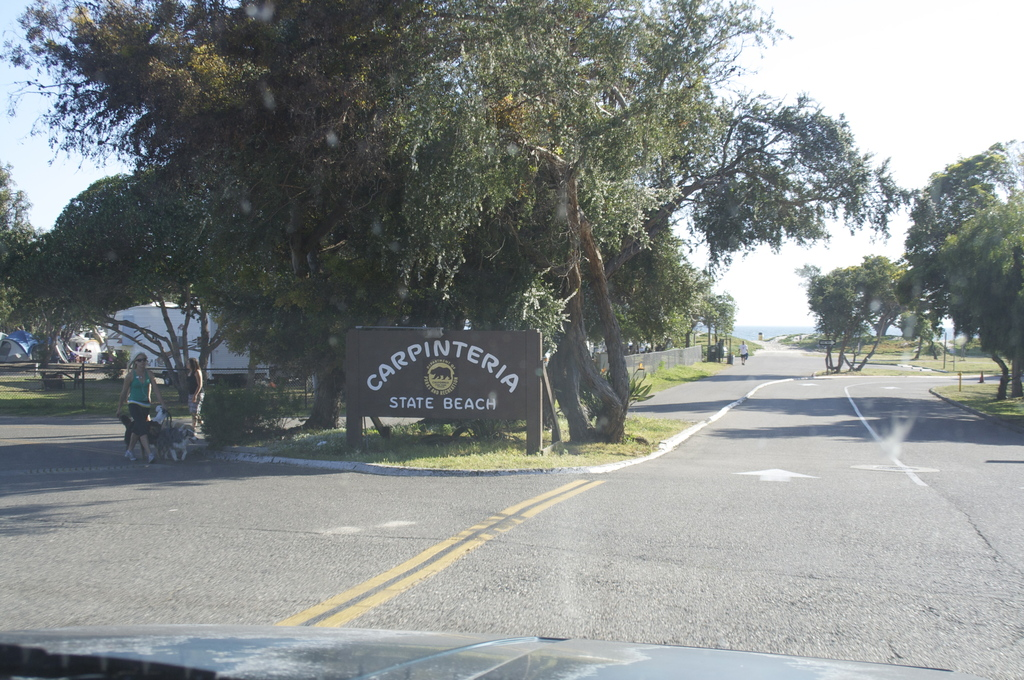 Carpinteria State Beach - Photo Sites, Campsites -