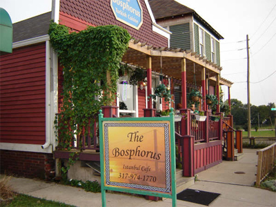 Bosphorus Istanbul Cafe - Restaurants - 935 S East St, Indianapolis, IN, United States