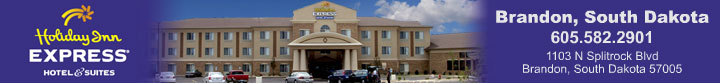 Holiday Inn Express - Reception Sites, Hotels/Accommodations - 1103 N Splitrock Blvd, Brandon, SD, 57005