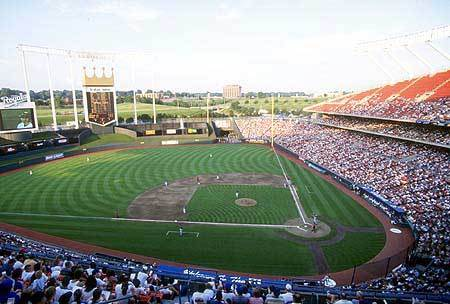 Kauffman Stadium - Attractions/Entertainment - 1 Royal Way, Kansas City, MO, United States
