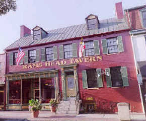 Ram's Head Tavern - Attractions/Entertainment, Restaurants, Bars/Nightife - 33 West St, Annapolis, MD, United States