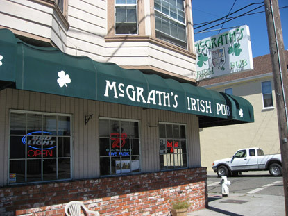 Mc Grath's Irish Pub - Bars/Nightife - 1539 Lincoln Ave, Alameda, CA, United States