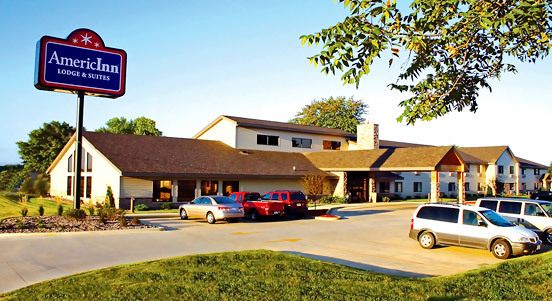 Americinn - Hotels/Accommodations - 119 Lesauk Dr, Stearns County, MN, 56377