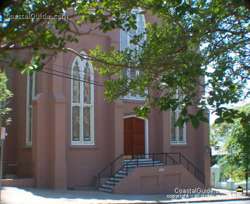 St. Thomas Preservation Hall - Reception Sites, Ceremony Sites - 208 Dock St, Wilmington, NC, 28401