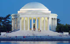 Jefferson Memorial - Tourist Spots -