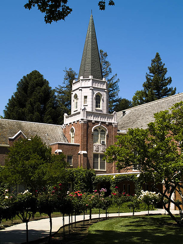 Morris Chapel - Ceremony Sites - Pacific Avenue, Stockton, CA, 952--