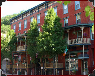 The Inn At Jim Thorpe - Hotels/Accommodations, Ceremony Sites - 24 Broadway, Jim Thorpe, PA, United States