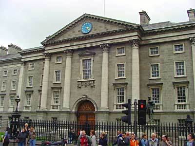 Trinity College (book Of Kells) - Attractions/Entertainment - College Green, Dublin 2, Ireland