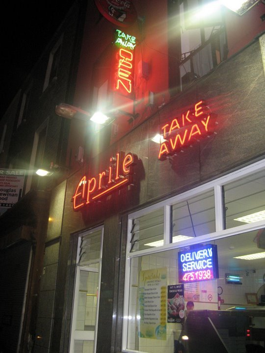 Aprile's Fish And Chip Shop - Restaurants -