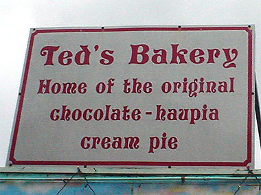 Ted's Bakery - Restaurants, Attractions/Entertainment - 59-024 Kamehameha Hwy, Haleiwa, HI, United States