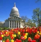 Wisconsin State Capitol - Capitol Building - 2 E Main St, Madison, WI, 53703, US