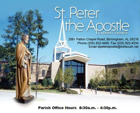 St Peter's Catholic Church - Ceremony Sites - 2061 Patton Chapel Rd, Birmingham, AL, United States