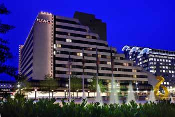 Hyatt Bethesda - Hotels/Accommodations - 7400 Wisconsin Ave, Bethesda, MD, 20814