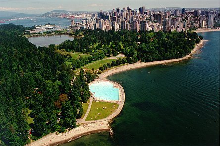 Swimming At Second Beach Pool - Attractions/Entertainment, Beaches - Stanley Park Dr & N Lagoon Dr, Vancouver, BC, V6G