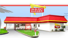 In-N-Out Burger - Rise and Dine - 13425 Washington Blvd, Culver City, CA, 90291, US