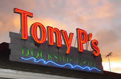 Tony P's Dockside Grill - Restaurant - 4445 Admiralty Way, Marina Del Rey, CA, United States