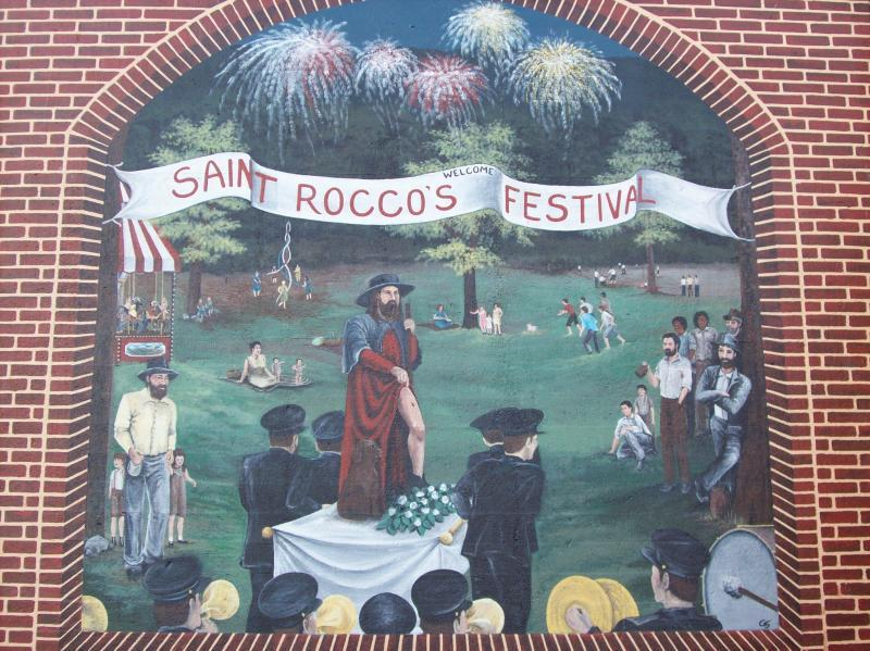 Wellsville Flood Wall Murals - Attractions/Entertainment - 1st St, Wellsville, OH, 43968, US