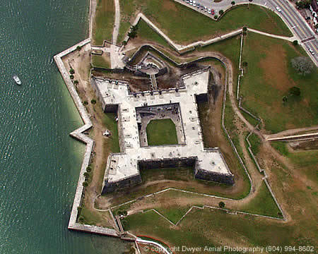 Castillo De San Marcos - Attractions/Entertainment - 1 S Castillo Dr, St Augustine, FL, United States