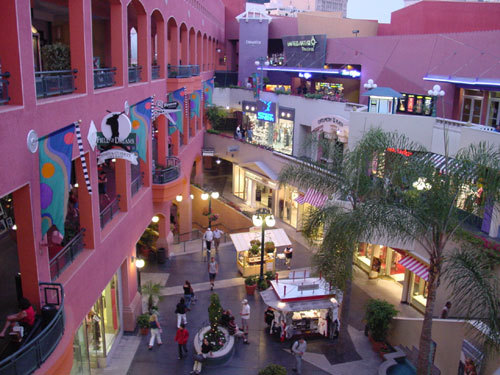 Horton Plaza Mall - Attractions/Entertainment, Shopping - Horton Plaza, San Diego, CA, CA, US