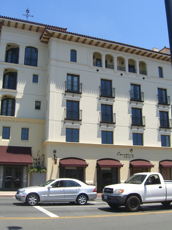 Canary Hotel - Ceremony Sites, Restaurants - 31 W Carrillo St, Santa Barbara, CA, 93101, US