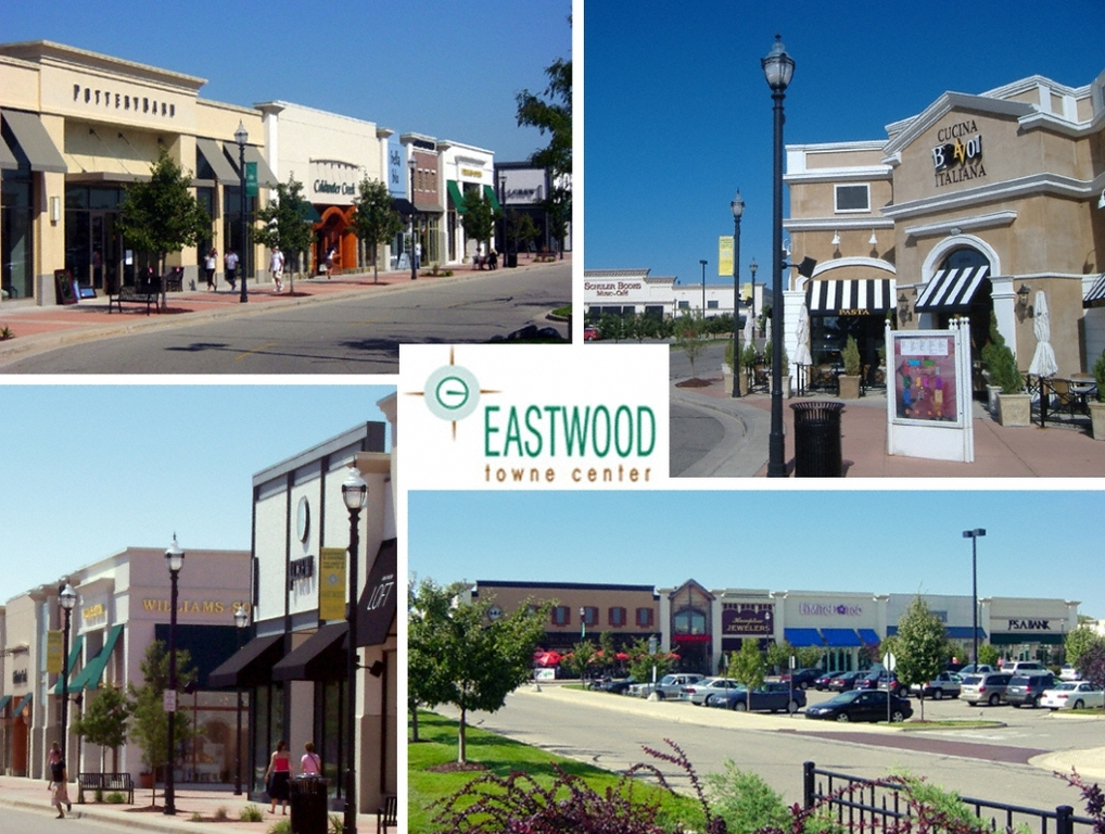 Eastwood Towne Center - Shopping, Attractions/Entertainment - 3003 Preyde Boulevard, Lansing, MI, United States